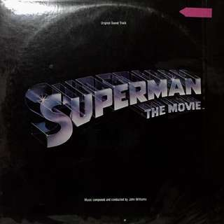 Superman The Movie OST Vinyl Record