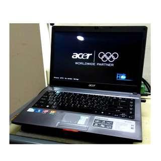 ACER Aspire 4810TZG 14吋LED 新一代雙核心獨顯 輕薄型 筆記型電腦