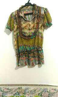 Bohemian Top from Bangkok