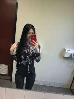 Alannah Hill floral blouse size 6
