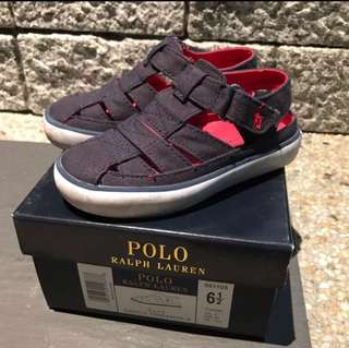 Authentic Polo Ralph Lauren toddler sandals (size 6 1/2 or 12.5cm)