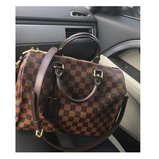 Authentic Louis Vuitton Speedy Bandouliere 30