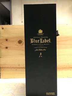Blue lable whisky 藍牌 威士忌 700ml