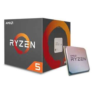 AMD Ryzen 5 1600 6 Core CPU 3.2 GHz