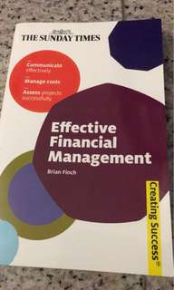 Effective financial Managment - the Sunday times - Brian Finch