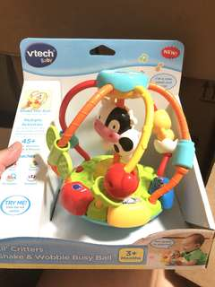 *ready stocked* VTech Lil' Critters Shake & Wobble Busy Ball