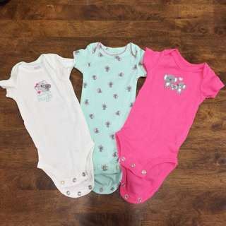 Carter's Baby Onsies Bodysuits for Girls