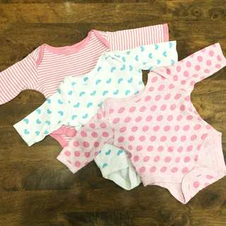 Mothercare Baby Onesies Bodysuits For Girls