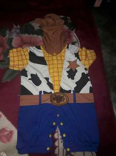 Baby woody costume toy story