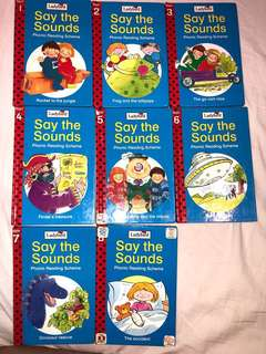 Ladybird phonics reading books