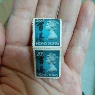 英女皇頭郵票