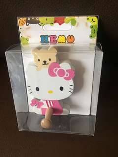 Hello kitty 掛鈎一個