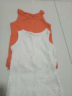 Mothercare sleeveless tops