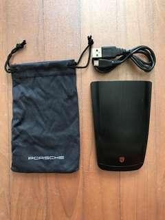 Porsche Cayenne Original Portable Powerbank Battery Charger Box Set Brand new