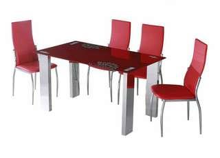 Meja + Kursi Makan Importa DT403-DC002 4 Dudukan