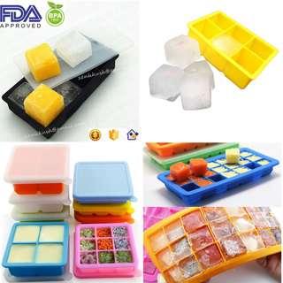 Ice Cube Maker/Ice Cube Tray/Baby Food Tray/Jelly Mould