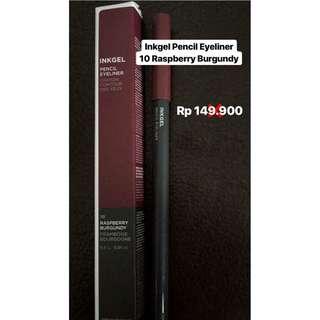 Inkgel Pencil Eyeliner 10 Raspberry Burgundy