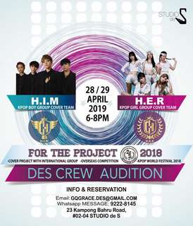 KPOP Audition in SG