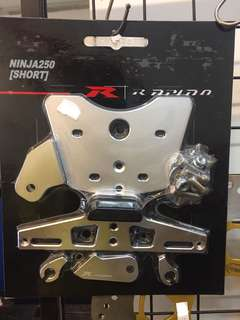 Ninja250(Short) Number Plate Bracket   0.4kg