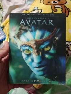 avatar 3D 2D ( 2disc)