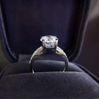 Accept customised proposal ring : GIA diamonds