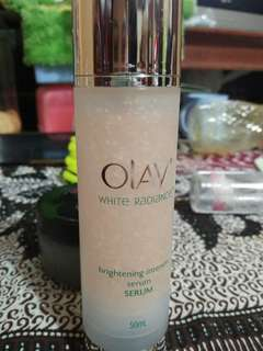 olay white radiance serum