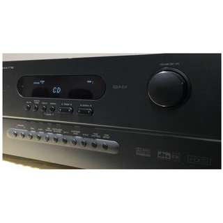 NAD T762 120watts x 2 stereo amp with remote vol control/ 7.1 AV receiver