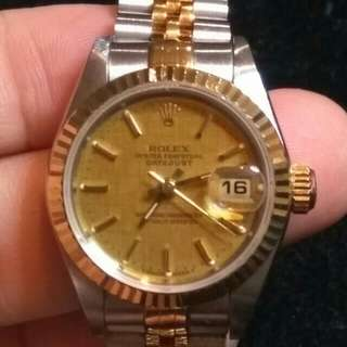 Rolex Ladies Datejust 26 mm Dior Hermes LV Prada Chanel Gucci