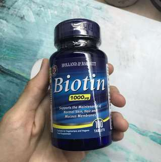 H&B Biotin Supplements