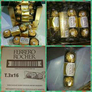 Ferrero rocher 1 box ~ 3 × 16pack
