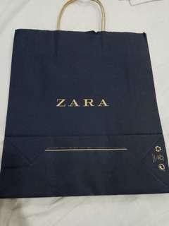 ZARA paper bag - only one left
