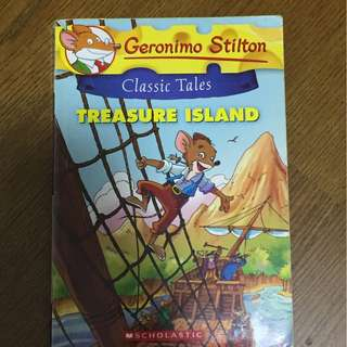 Geronimo Stilton Classic Tales Treasure Island Book