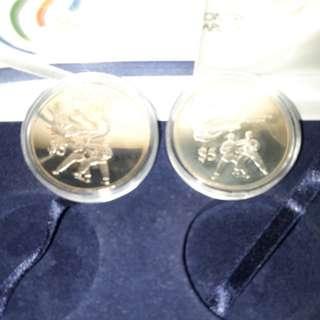$5 sea games 1993 coins set