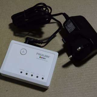 Portable Prolink Wireless-N Router/Access Point/Client