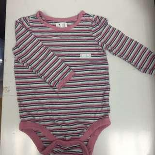 全新Baby Gap 橫間包pat 夾衣6-12m (送平郵)