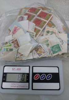 80g of stamps