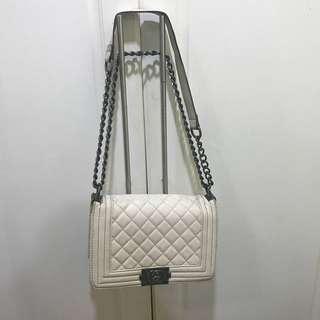 Korean White Sling Bag (Chanel Inspired)