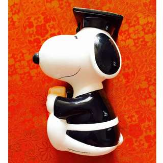 Repriced (50% Off) Graduate Snoopy Coin Bank