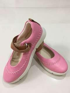 Clark's Pink Italian Leather Shoe