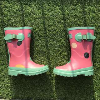 FOC Free Gift with Purchase Girl Rubber Boots Size UK9