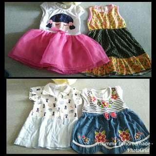 Baby Girl Dress 6-12m
