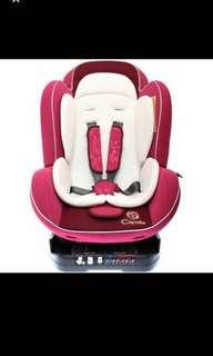 Capella Baby Car Seat - Wine