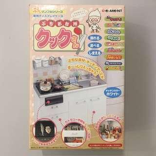 日本 Rement Re-ment 迷你 場景 模型 玩具 廚房 食玩