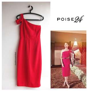 Poise 24 Red Headline Dress