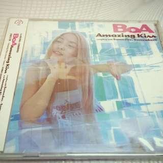 BoA 2001年日語單曲