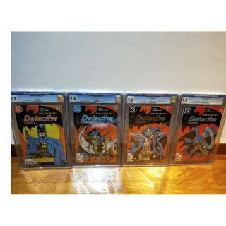 Batman Detective Comics 575 576 577 578  Year Two Super Set! All CGC 9.8!  McFarlane