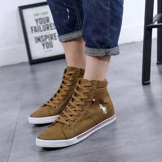 Sepatu boots polo