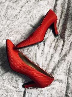 Yves Saint Laurent Red Heels