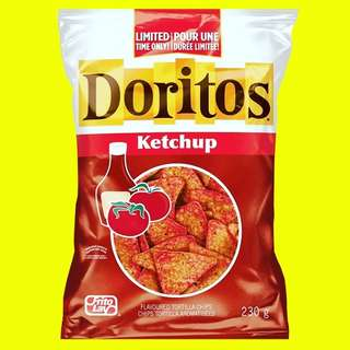 ✨DORITOS  KETCHUP FLAVOURED TORTILLA CHIPS✨230g