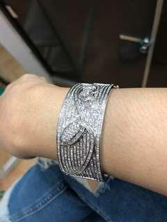 bracelet bangle, earrings & ring set hongkong set